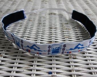 Swimming Womens Headband - Swim Girls Sports Headband