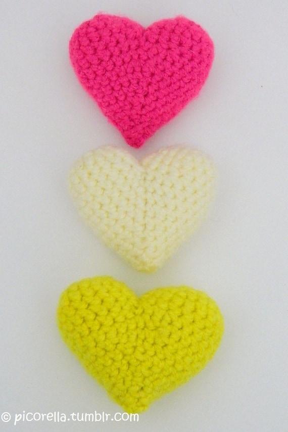 Crochet Pattern Amigurumi Turtle Crochet Keychain : PDF Amigurumi Hearts, Amigurumi Hearts Pattern, Amigurumi ...