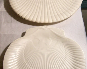 Wedgwood Etruria Shell Salad and Dinner Plate