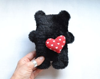 The hairy plushie / Hand made plush, doll, stuffed toy