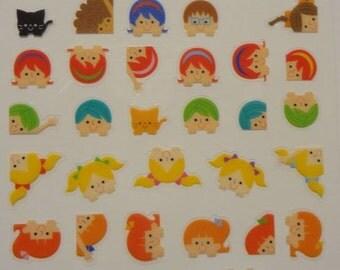 Japan Mind Wave Children's Frame Schedule Sticker sheet/73846