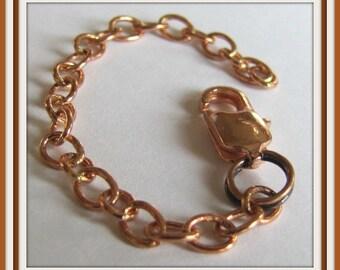 2, 3, 4, 5 inch Copper Extender, Brass, Gold, Silver Extender, Necklace Extender, Bracelet Extender, Anklet  Extender