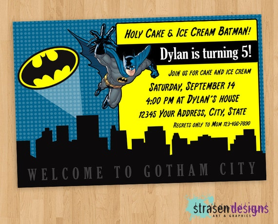 Batman Party Invitations was very inspiring ideas you may choose for invitation ideas