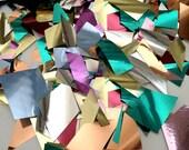Mixed Metallic Geometric Sparkle Confetti - Wedding - Party - Baby Shower - Send Off