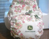 Custom  fitted cloth diaper