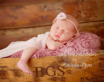 Newborn Phography Wrap.. Hand Dyed Cheesecloth.. Photo Prop..Swaddle Wrap..ONE cheesecloth wrap.