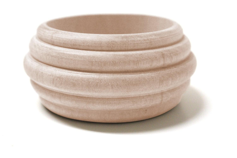 2 inches wood bangle wooden bracelet eco friendly wood