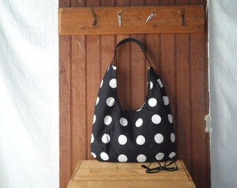 Hobo Bag - Polka Dot