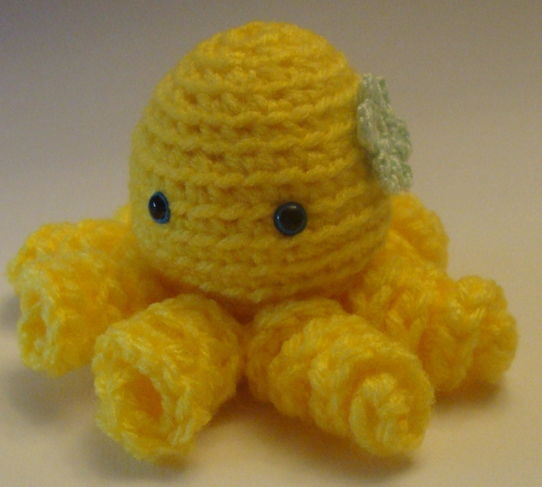 Amigurumi Stuffing : Amigurumi Octopus Crochet Yarn Stuffed Sea by ...