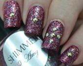 Shimmer Nail Polish - Amy