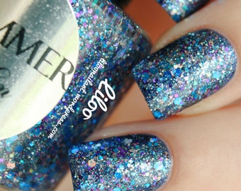 Shimmer Nail Polish - Kim