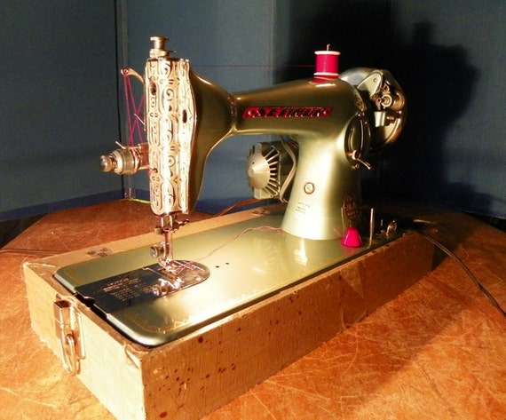 Vintage Japanese Made Sewmor Sewing Machine Vg Restored