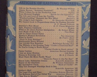 March 1943 Readers Digest