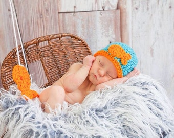 Baby Crochet Fish Beanie Hat
