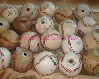 Baseball Geocache Micro Container