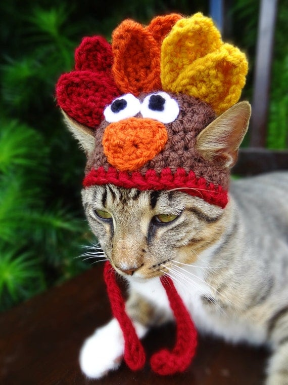 Cat Hat Costume The Thanksgiving Turkey Hat By