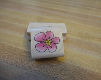Inkadinkado Flower Top Rubber Stamp
