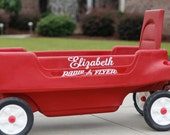 Personalized Decal for your Red Radio Flyer Wagon
