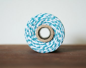 Bakers Twine - 10 Metres, Blue and White
