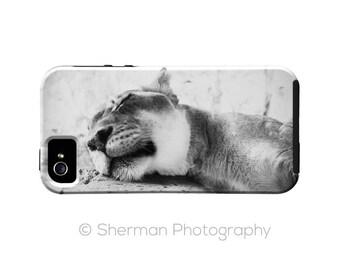 Lioness iPhone SE Case - iPhone 6s Plus Cover - iPhone 5s Case - Animal iPhone 5C Case  Sleeping Lion Africa iPhone 5 Case -  iPhone 6s Case