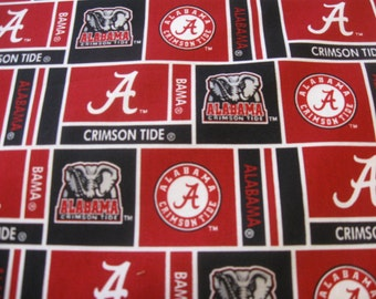 University of Alabama Cotton Patch FABRIC Sold by the HALF Yard