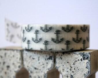 Grey Anchor  Washi Tape