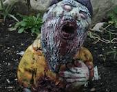 Seymour Guts Zombie Gnome