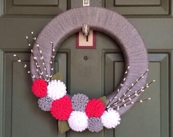 """Valentine Wreath - 16"""""""