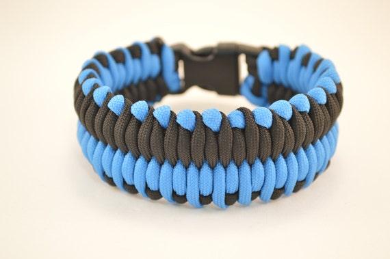 wide paracord bracelet instructions