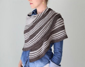 Turntable Wrap PDF KNITTING PATTERN