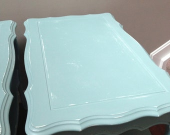 ITEM IS SOLD Shabby Chic Coastal Cottage End Table