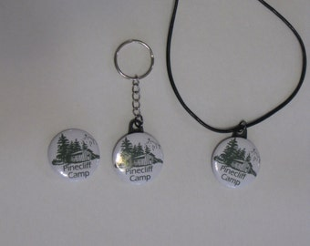Custom Orders on 1 1-4 Inch Pin Back Buttons, Zipper Pulls, Key Chains, Magnets,  Necklaces Now Available