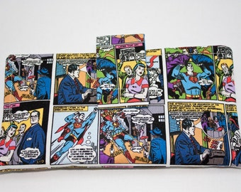 Wallet with SUPERMAN for women