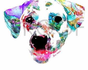 Dalmatian || Daphnie the Dalmatian || Dog Art || Dalmatian