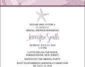 Bridal Shower Invite Item 00236