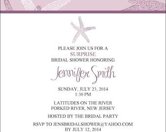 Bridal Shower Invite Item 00236