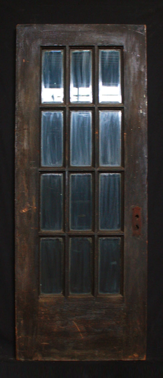 30x 78 antique interior exterior french pine by for Upvc front door 78 x 30