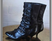 Classic Punk - 1980s Punk Rock Sasha of London midcalf leather boots