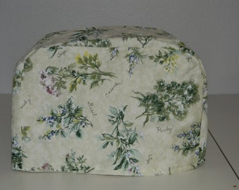 Toaster Cover - Herb Print