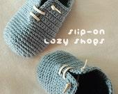 Crochet Pattern - Slip-On Toddler Lazy Shoes Size 4, 6, 7, 8, 9 Booties Sneaker Socks Slip On Home Slippers Crochet Pattern (SLS02-B-PAT)
