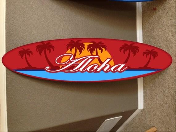 Appeso a parete surf tavola da surf arredamento spiaggia - Tavola da surf motorizzata prezzo ...