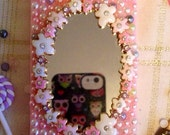 Pink pearl mirror iphone 5 case