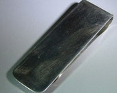Tiffany & Co. Sterling Money Clip UnEngraved