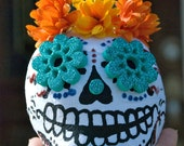 Sugar Skull Dia de Muertos Suprise Ball