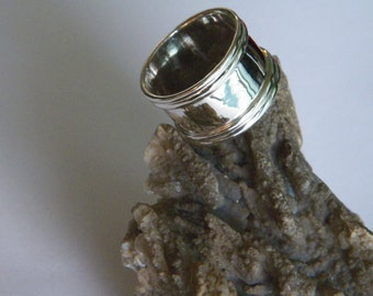 Handcrafted .925 Sterling Silver Band Ring Size -Custom Size