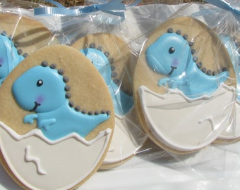 Baby Dinosaur Cookies- 1 Dozen