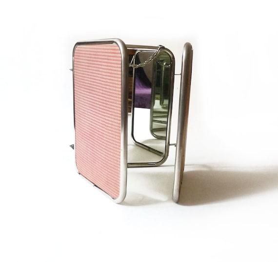 miroir 3 volets vintage miroir 3 faces miroir triptyque. Black Bedroom Furniture Sets. Home Design Ideas