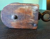 PRICE REDUCED!!! Antique Wooden Pulleys