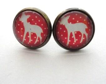 Earrings Deer