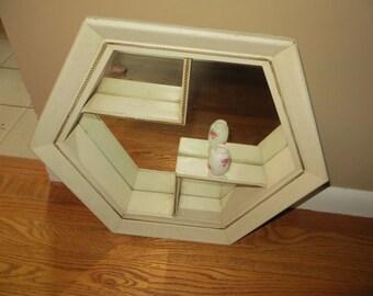 Vintage Mirrored Shadow Box  20% Off Moving Sale Code COLORADO